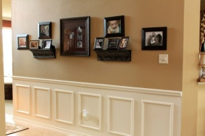 DIY Wainscoting by Decorchick.com